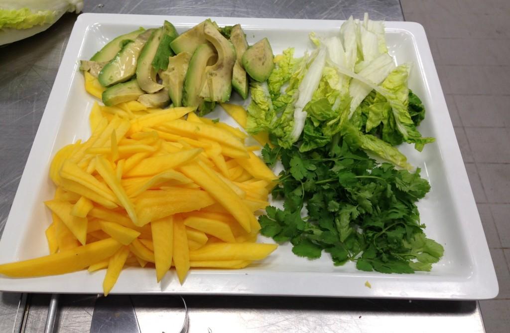 Gastroblog_FMM_forårsruller_ingredienser til frisk rulle